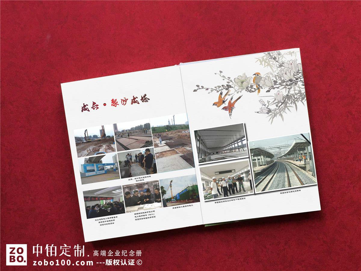 建筑工程项目部纪念册-竣工相册怎么做